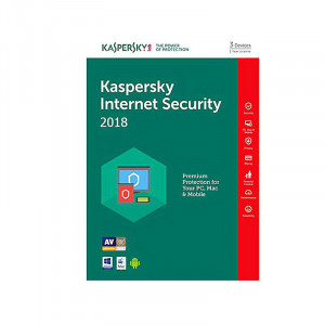 KASPERSKY Internet Security 2018 3u 1g