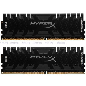 KINGSTON 2x8GB HX436C17PB3K2/16 Predator