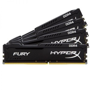 KINGSTON 4x16GB HX421C14FBK4/64 Fury Black