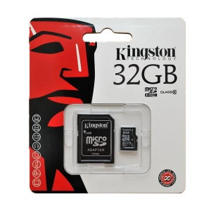 KINGSTON Micro SD + adapter SDCAC/32GB
