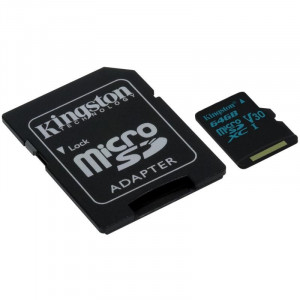KINGSTON MicroSDXC 64GB SDCG2/64GB