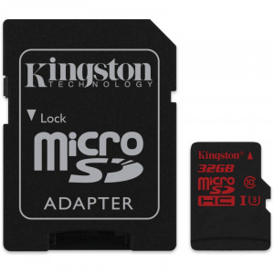 KINGSTON MicroSDXC SDCA3/32GB Class U3