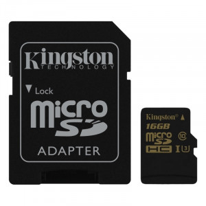 KINGSTON SDCG/16GB Gold UHS-I U3