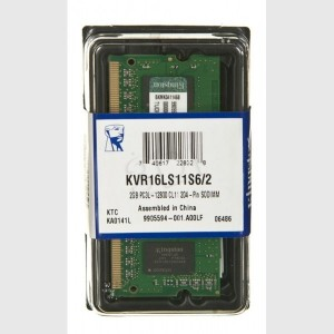KINGSTON SO-DIMM DDR3 2GB KVR16LS11S6/2