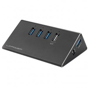 LC POWER LC-HUB-ALU-2B-4 USB 3.0 Hub