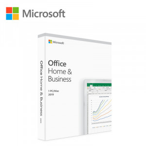 MICROSOFT Office Home and Business 2019 CEE Only Medialess English T5D-03245