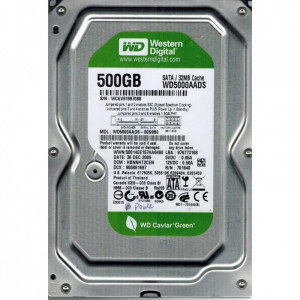 """WD 500GB 3.5"""" WD5000AADS"""